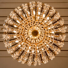 Chandelier Lookup On The Ceiling