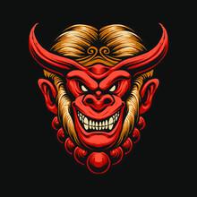 The Devil Monkey King Head