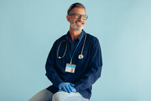 Portrait Of A Happy General Practitioner