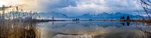 Canvastavla kleiner See