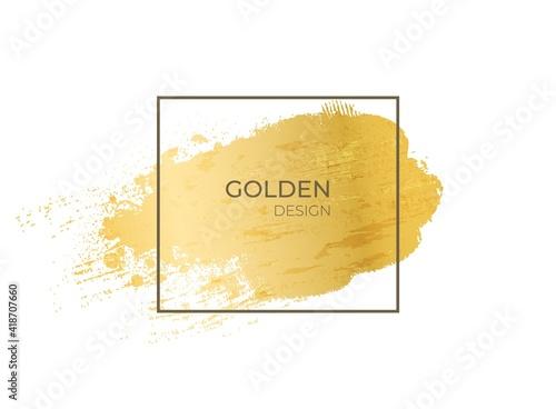 Fotografie, Obraz Golden frame