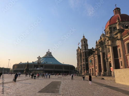 st Guadelupe basilica in Mexico city