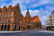 canvas print picture - Marktkirche in Hannover