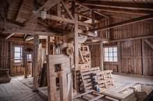 Inside Of Old Mill