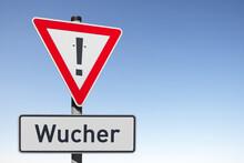 Achtung, Wucher!, (Symbolbild)