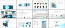 Presentation Design Vector Templates, Multipurpose Template For Presentation Slide, Flyer, Brochure Cover Design, Infographic Report. Abstract Geometric Pattern. Corporate Identity Business Concept.