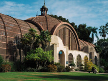 The Landmark Botanical Building In Balboa Park, Built For The 1915-1916 Exposition, And Housing More Than 2000 Permanent Plants On Display.