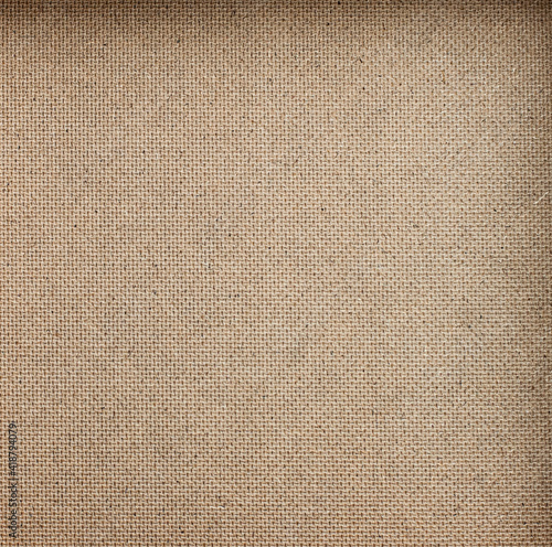 textured background of linen bottom top view