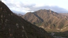 The Mountains Around The Great Wall Of China, Juyong Pass Section.