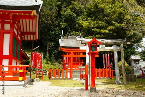 Fototapeta 阿須賀神社 obraz