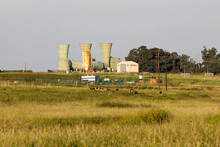 Power Station South Africa On The Highveld