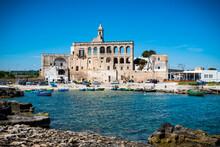 St. Vito Martyr Abbey. Polignano A Mare. Apulia.