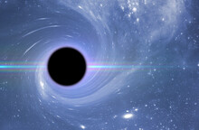 Black Hole In Outer Space, Abstract Science Fantasy Deep Stars Of Universe, Elements Of This Image Furnished By Nasa