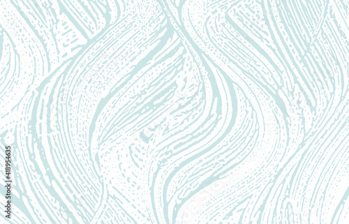 Tablou Canvas Grunge texture. Distress blue rough trace. Captiva