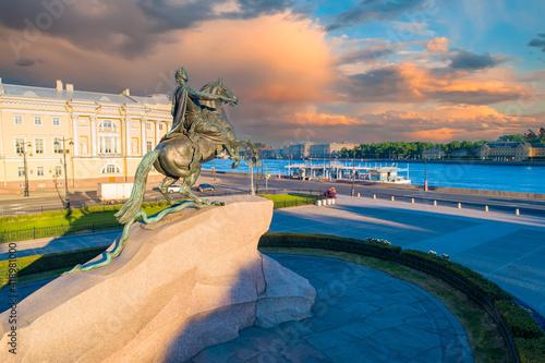 Fotografija Dawn in Saint-Petersburg
