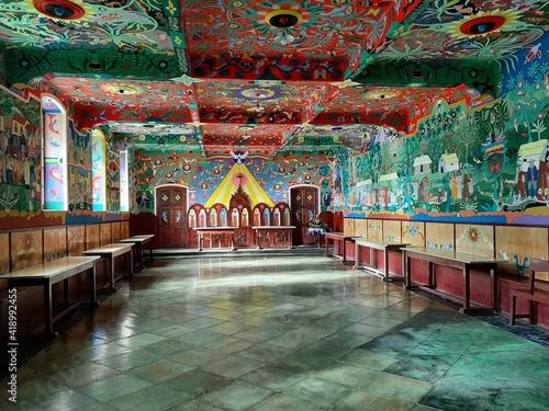 Convento Santa Rosa de Ocopa, Capilla. Vista Adelante Fotobehang