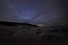 Stars And Space Over Sand Beach, ME