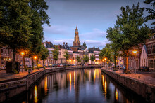 The Hoge Der Aa In The City Of Groningen. The Netherlands