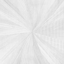 White Straw Marquetry In Radial Starburst Pattern