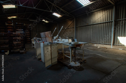 Fotografija stillgelegte Fabrik