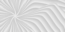 Bright White Circle Background, Vector Design