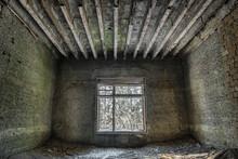 Dilapidated Sanatorium At The Winter