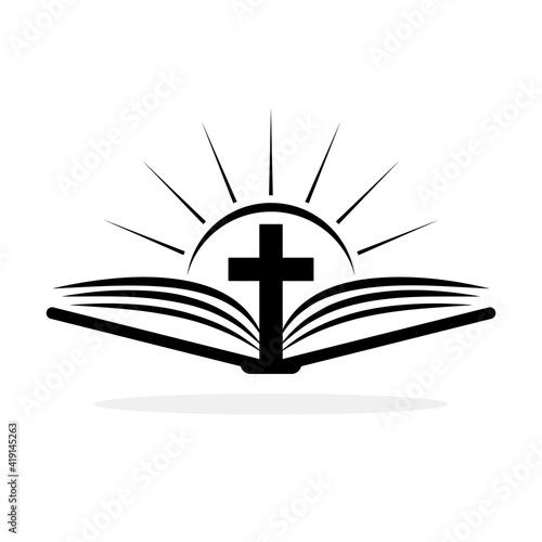 Church logo Fotobehang