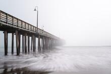 Pier In The Fog