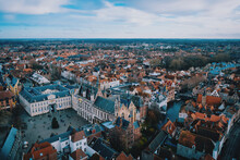 Bruges City View From Top