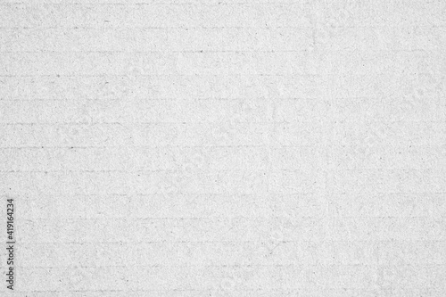 Obraz White cardboard paper or white concrete / cement wall. Background texture christmas festival, copy space for text. - fototapety do salonu