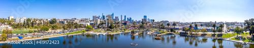 Wallpaper Mural Panorama of MacArthur Park Los Angeles