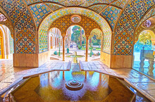 The Fountain In Karim Khani Nook In Golestan, Tehran, Iran