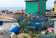 Lobster Traps And Other Fishing Traps