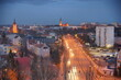 Olsztyn. Panorama miasta. Polaka - Mazury - Warmia.