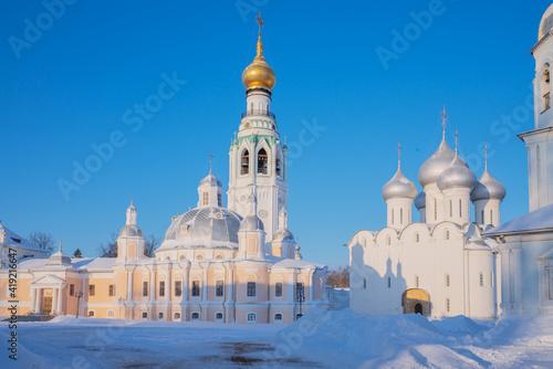 Fotografija Vologda landmarks Kremlin ensemble - Resurrection and St