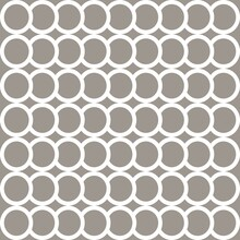 Simple Pattern. Circle Pattern. Seamless Background. Fish Scale Pattern. Abstract Geometric Background On The Marine Theme. For Plaid, Tablecloths, Clothes, Shirts, Dresses, Paper, Bedding, Blankets.