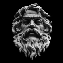 God Zeus. The King Of The Gods And The Ruler Of Mount Olympus,  The God Of The Sky And Thunder.
