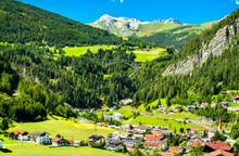 Sankt Jodok Am Brenner, A Village In The Austrian Alps