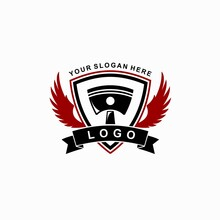 Garage Template Logo, Wings Concept