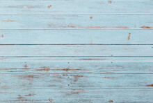 Blue Barn Wood Plank Background