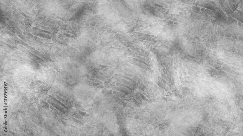 Obraz Concrete wall white color for background. Old grunge textures with scratches and cracks. White painted cement wall texture. - fototapety do salonu