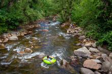 Tubing In Boulder Creek_Boulder, Colorado