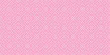 Decorative Seamless Pattern, Background For Your Design. Pink Tones. Vector Graphics