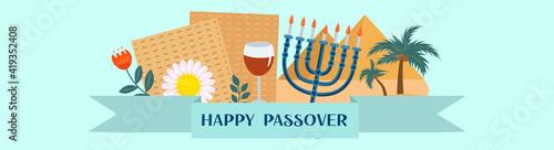 Fotografie, Obraz Passover banner