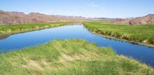 Bill Williams River National Wildlife Refuge In Arizona, USA