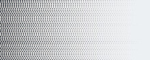 Abstract Dot Halftone Background