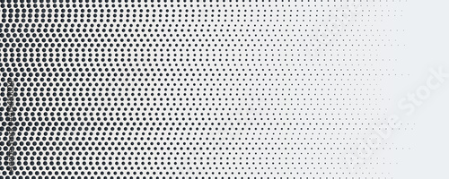 Foto Abstract dot halftone background