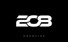 208 Letter Initial Logo Design Template Vector Illustration