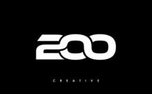 200 Letter Initial Logo Design Template Vector Illustration