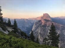 Half Dome At Sunset, Yosemite National Park, California, USA